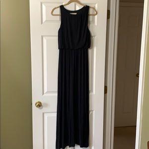 LOFT size XS. Knit, pull over maxi dress.